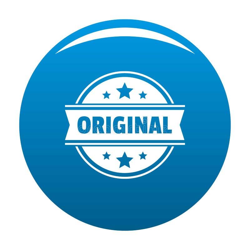 Logotipo original, estilo simples ilustração do vetor
