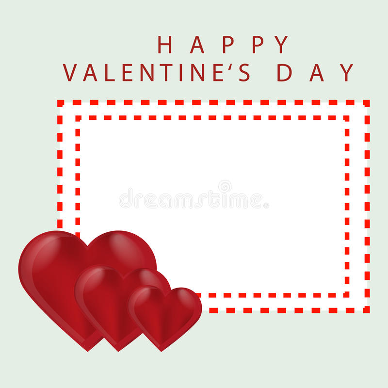 Logotipo para el día del ` s de la tarjeta del día de San Valentín del St del día de fiesta de la celebración libre illustration