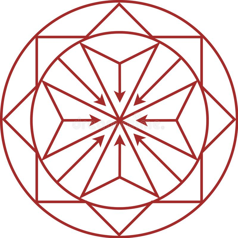 Logotipo para el desarrollador de propiedad libre illustration