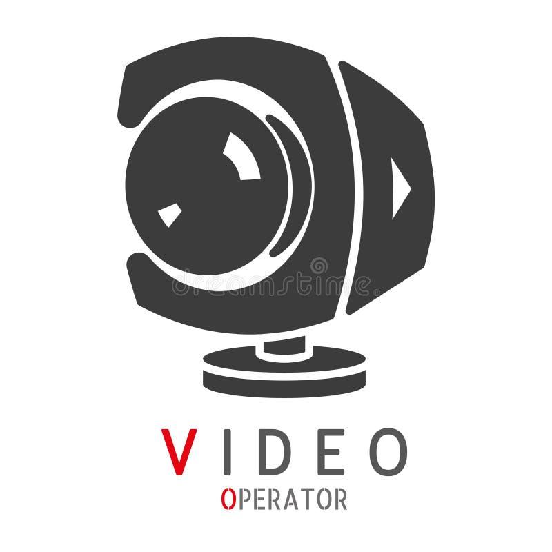 Logotipo para el operador video Vector libre illustration