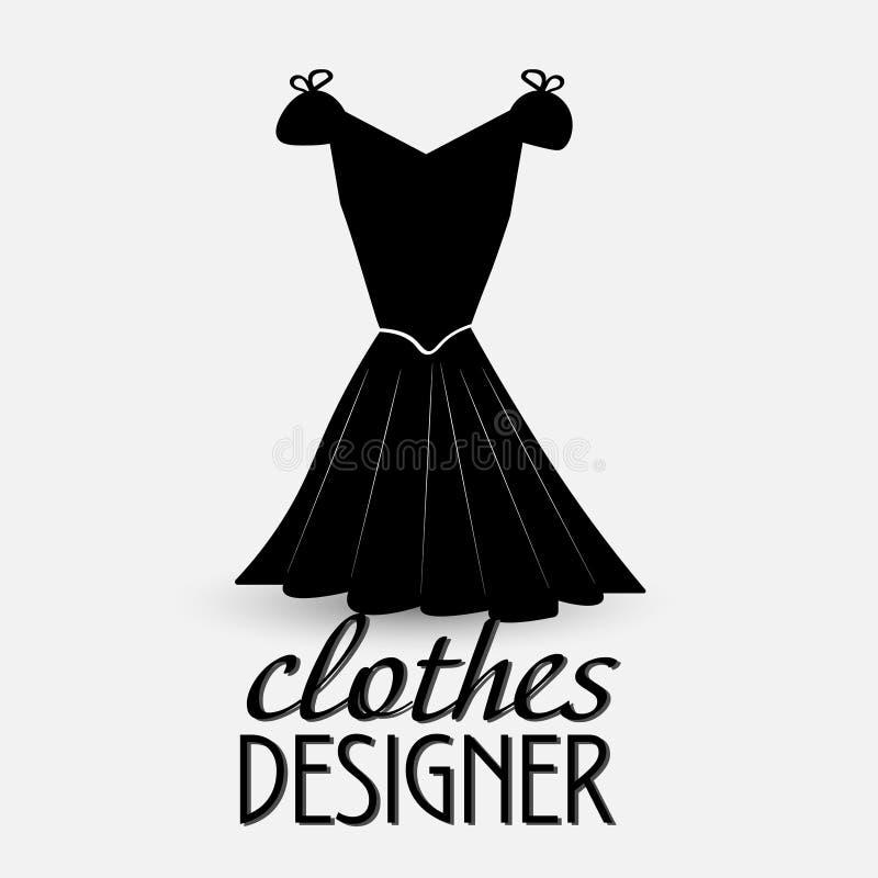 Logotipo para la ropa de diseñador libre illustration