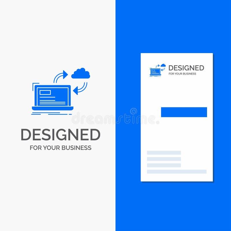 Logotipo para la sincronizaci?n, procesando, datos, tablero de instrumentos, flechas del negocio r libre illustration
