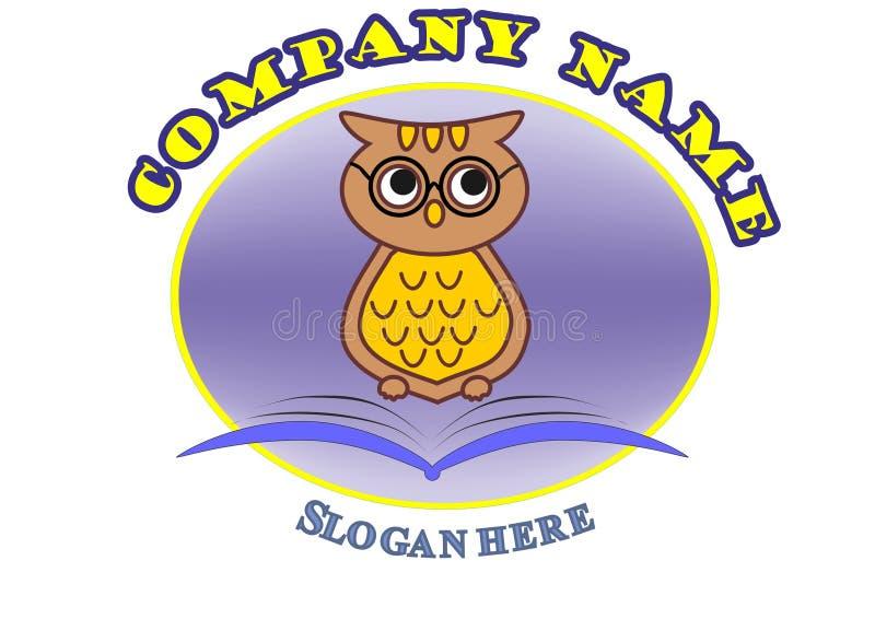 Logotipo para o centro educacional fotografia de stock royalty free
