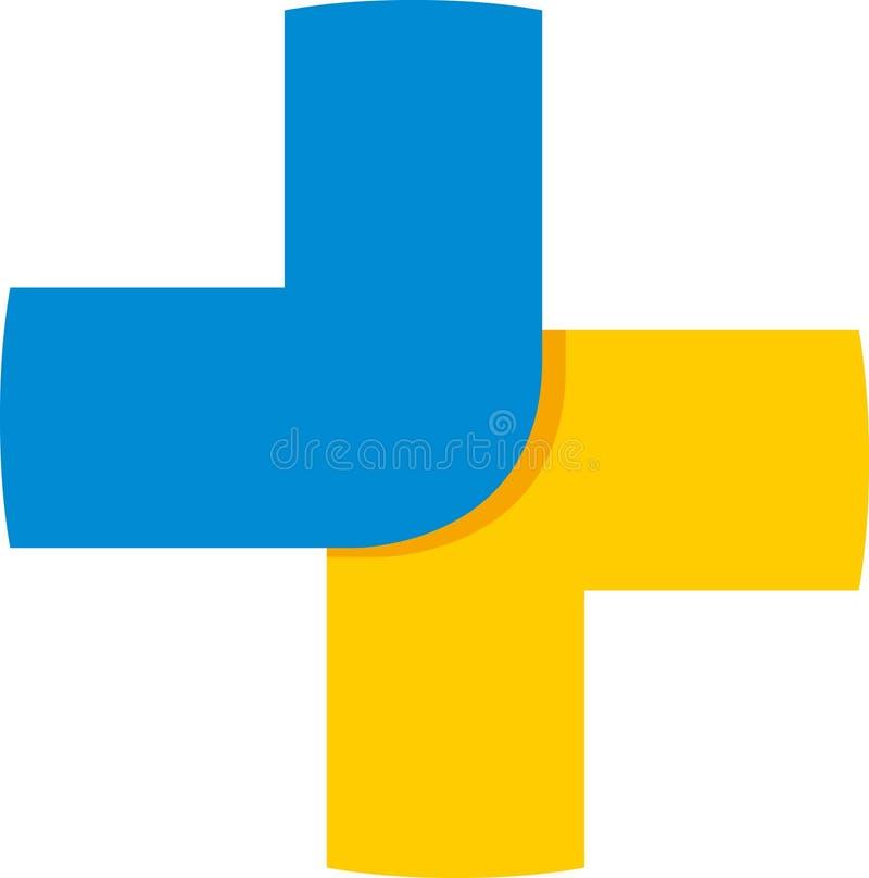 Logotipo positivo ilustração do vetor