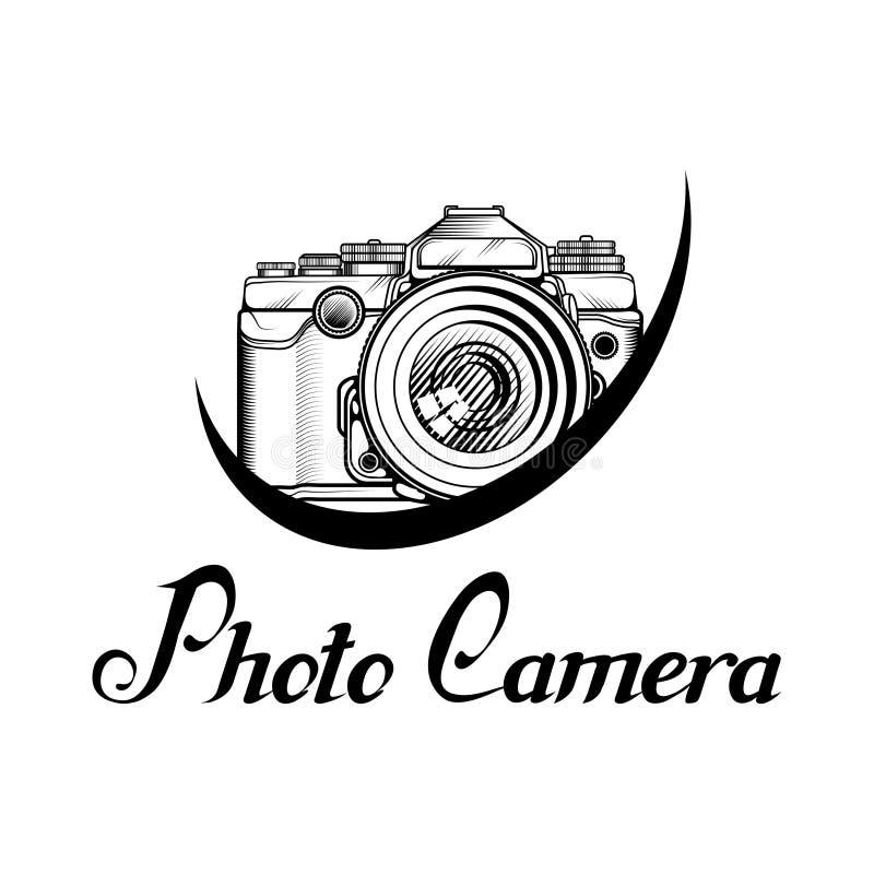 Logotipo retro de la cámara libre illustration