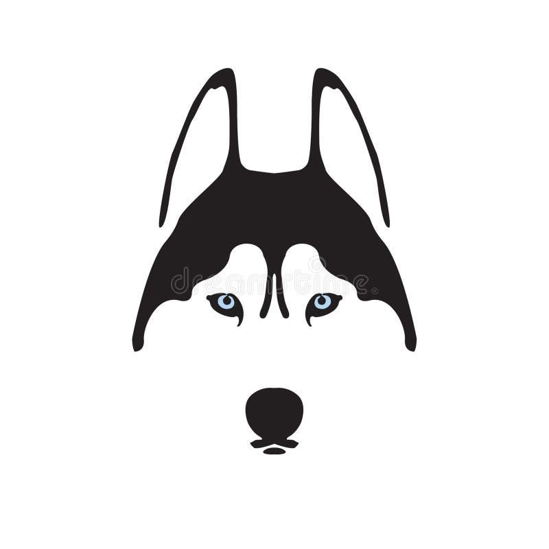 Logotipo ronco ilustração stock