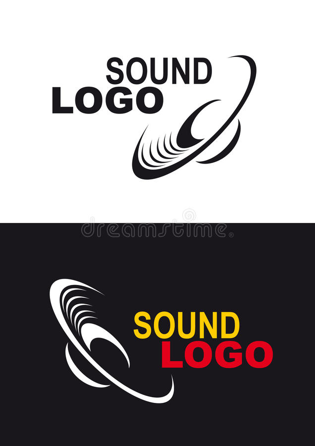 Logotipo sadio ilustração stock