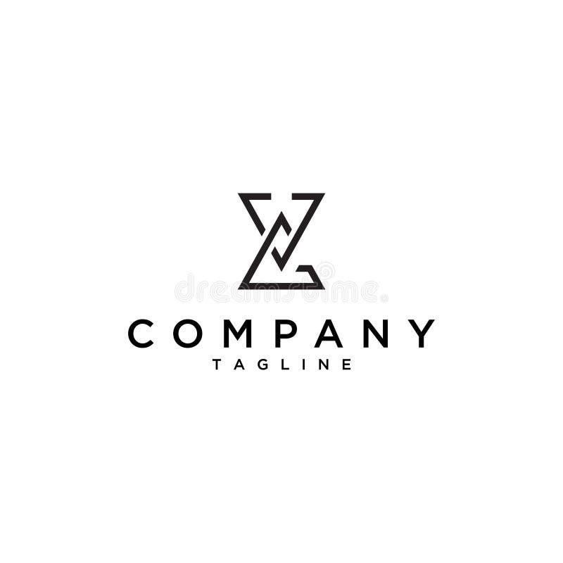 Logotipo simples do triângulo ilustração do vetor