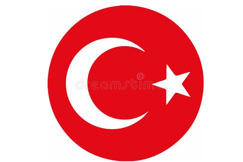 Logotipo turco nacional do futebol ilustração do vetor