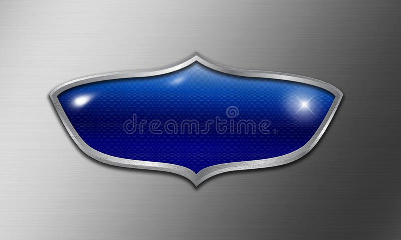 Logotipo vazio do protetor ilustração stock