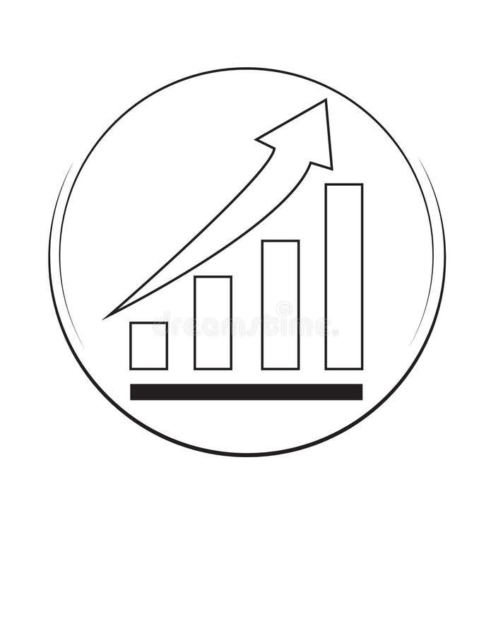 Logotipo vectorial de inversión libre illustration