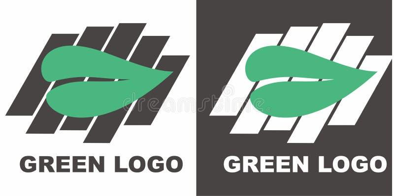 Logotipo verde imagens de stock royalty free