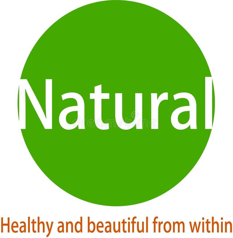 Logotipo y desaign naturales de la imagen libre illustration