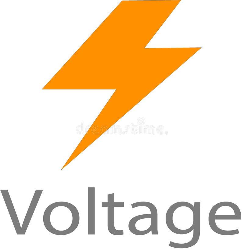 Logotipo y plantilla de la imagen del voltaje libre illustration