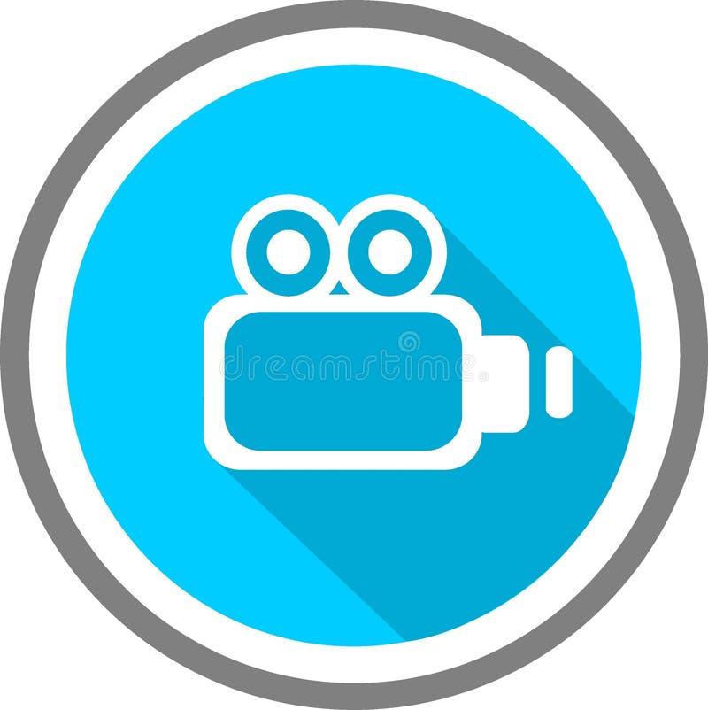 Logotipo y plantilla de la imagen de Vidio libre illustration