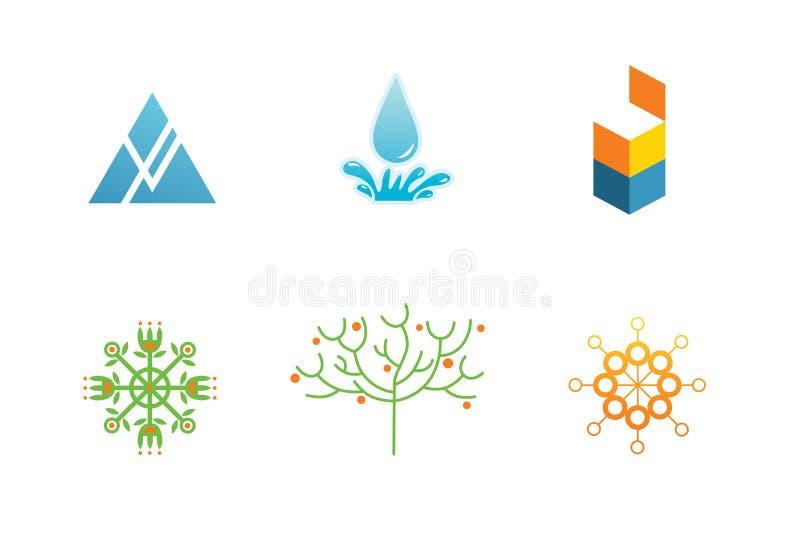 Logotipos Imagen de archivo