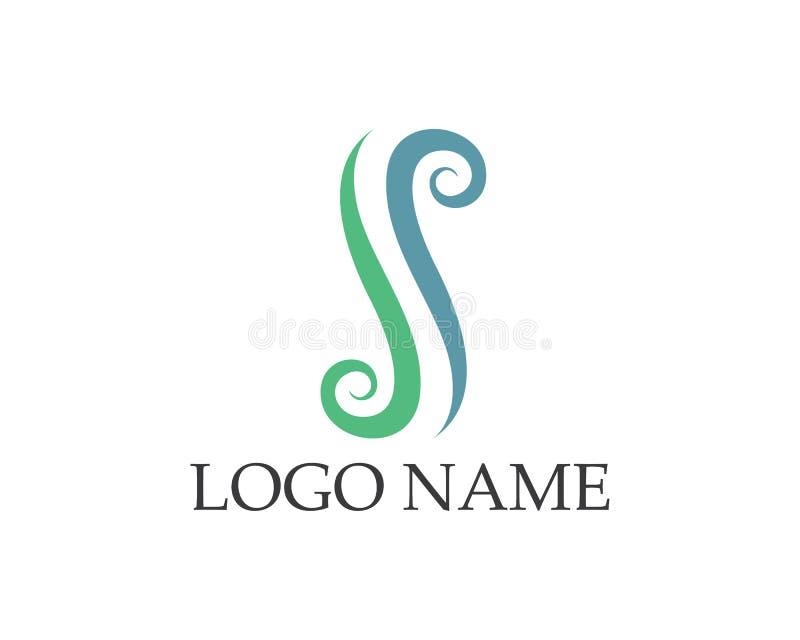 Logotipos de los SS e iconos app de la plantilla de los símbolos stock de ilustración