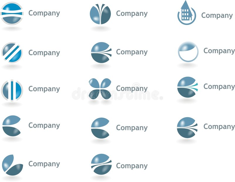 Logotipos, Logotypes fotos de stock royalty free