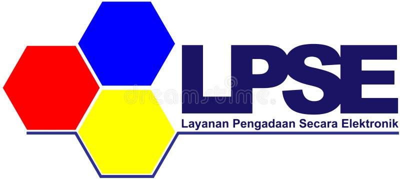 Logotipos LPSE imagen de archivo