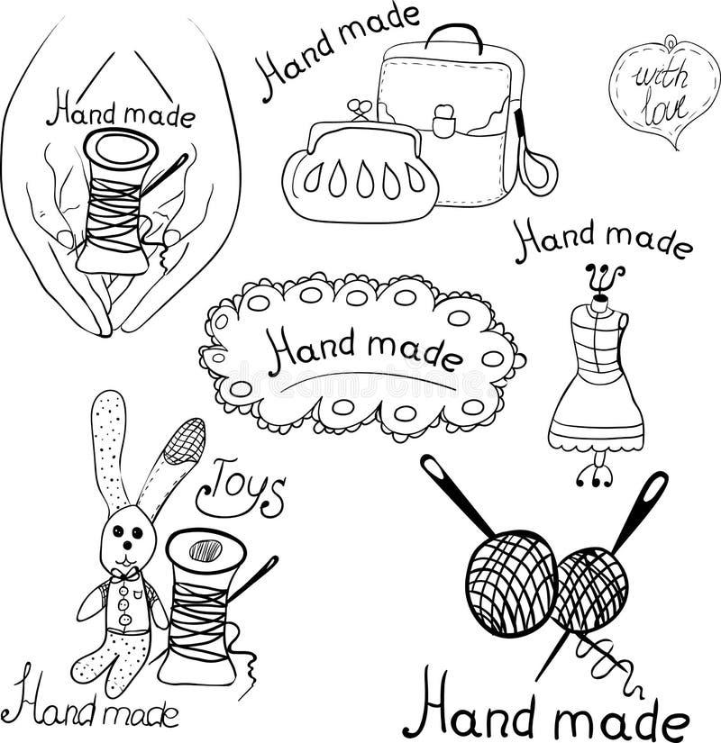 logotipos para los productos stock de ilustración