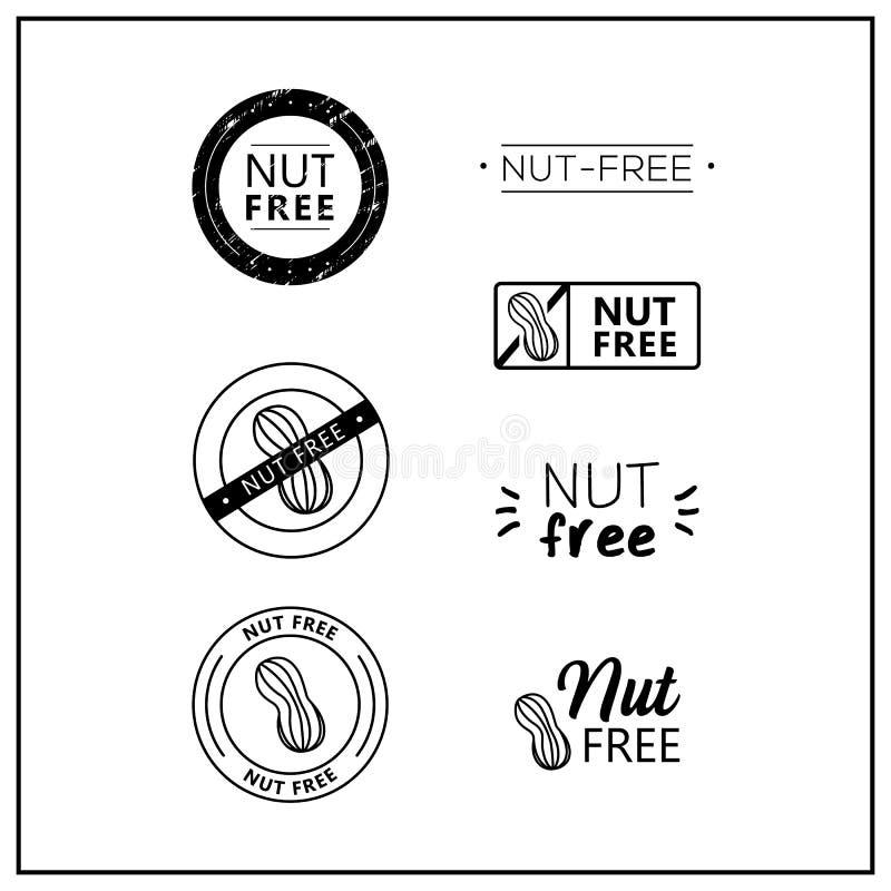 logotipos Porca-livres do vetor ilustração stock