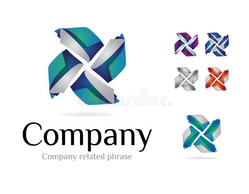 Logotype V1 stock illustration