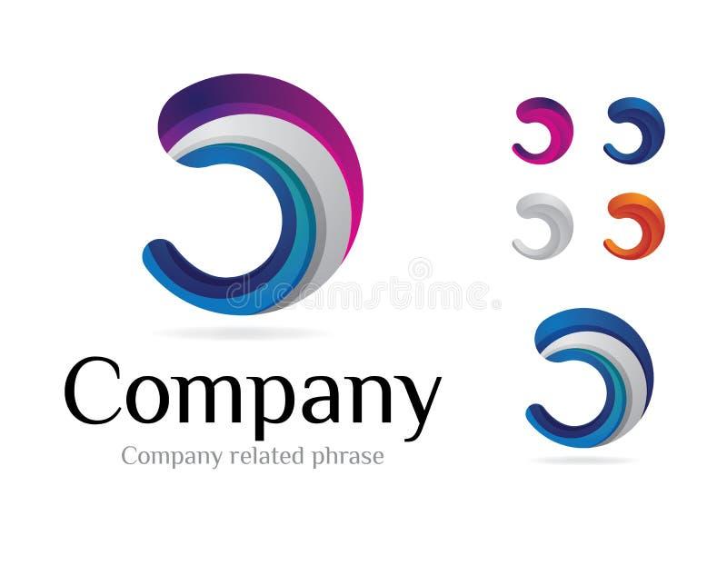 Logotype V2 royalty free illustration