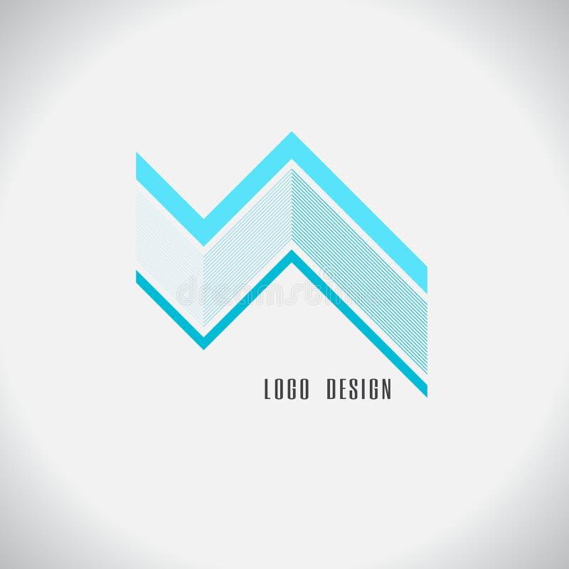 Logozusammenfassungsdesign Auf weißem Hintergrund vektor abbildung