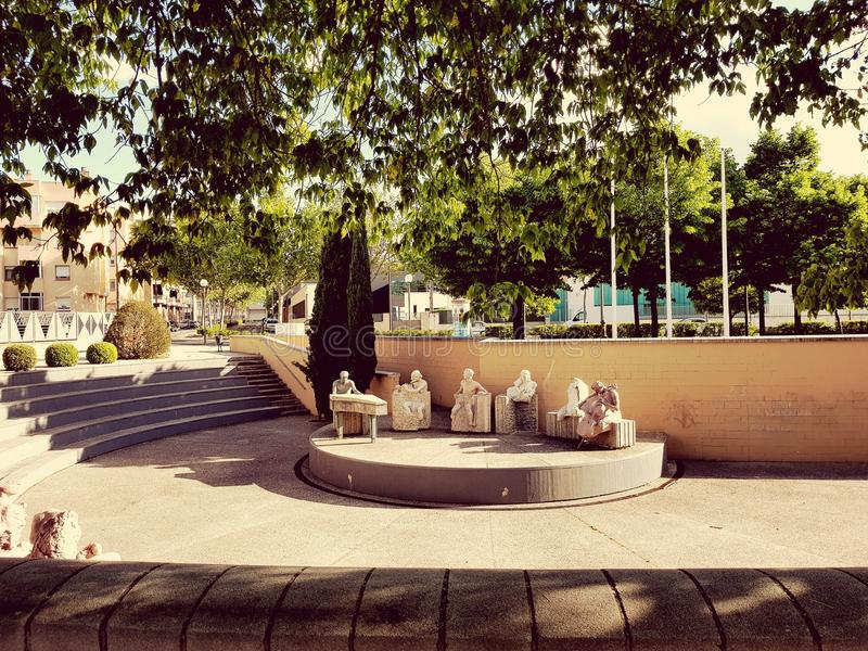 Logroño, Ισπανία στοκ φωτογραφίες με δικαίωμα ελεύθερης χρήσης