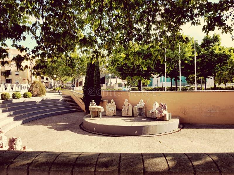 Logroño, Spanien lizenzfreie stockfotos