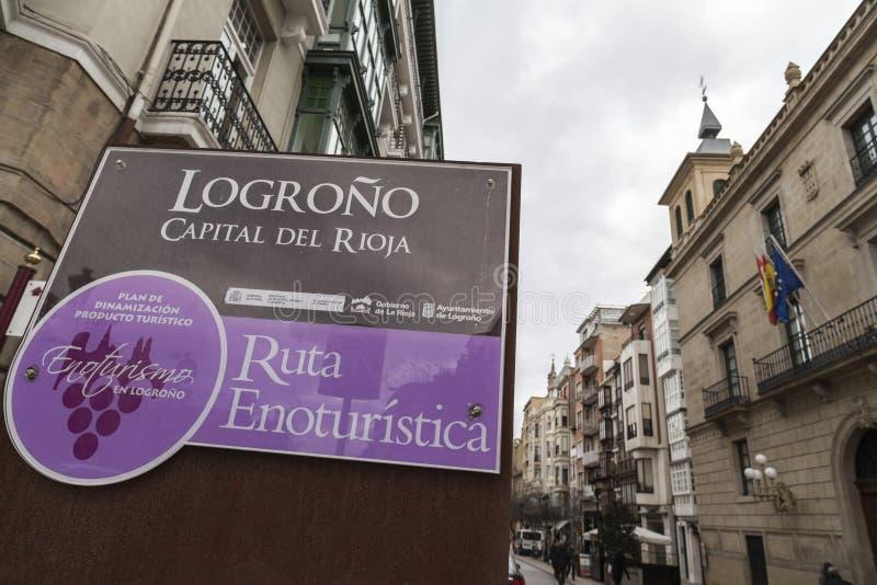 Logrono, La Rioja, Espanha imagens de stock