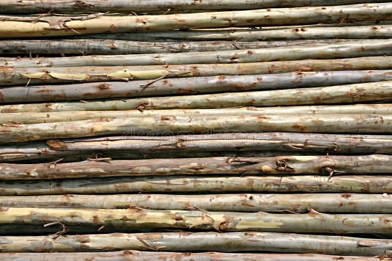 Logs stockbild