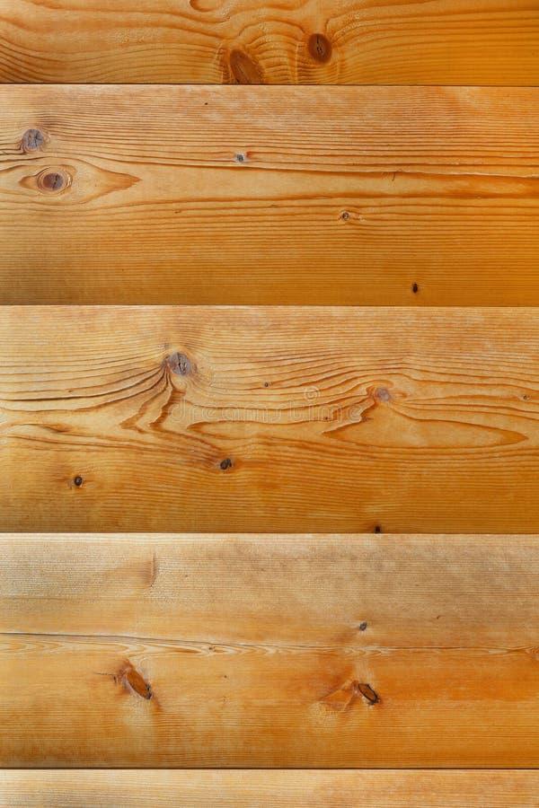 Logs recentemente de planeamento do pinho connosco imagens de stock royalty free