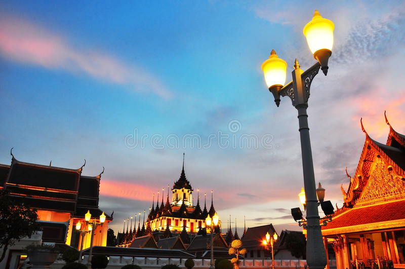 Download Loha Prasat Metal Palace stock image. Image of castle - 16604923