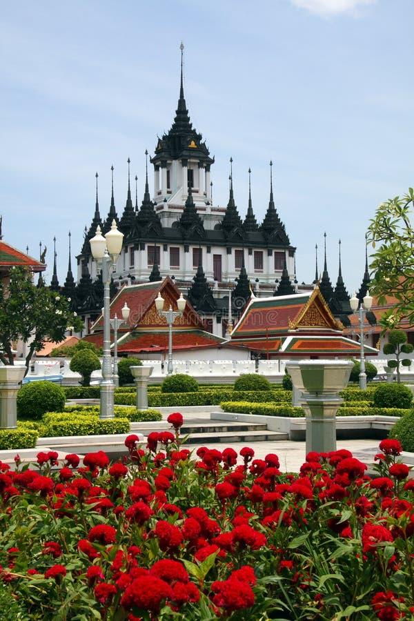 Loha Prasat or Metal Palace, Bangkok stock photography