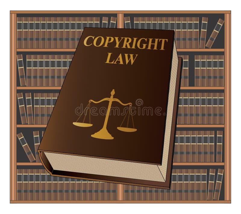 Loi sur les Droits d'Auteur illustration de vecteur