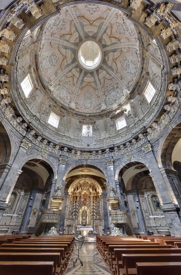 Loiola大教堂在阿兹佩希亚(西班牙) 库存照片