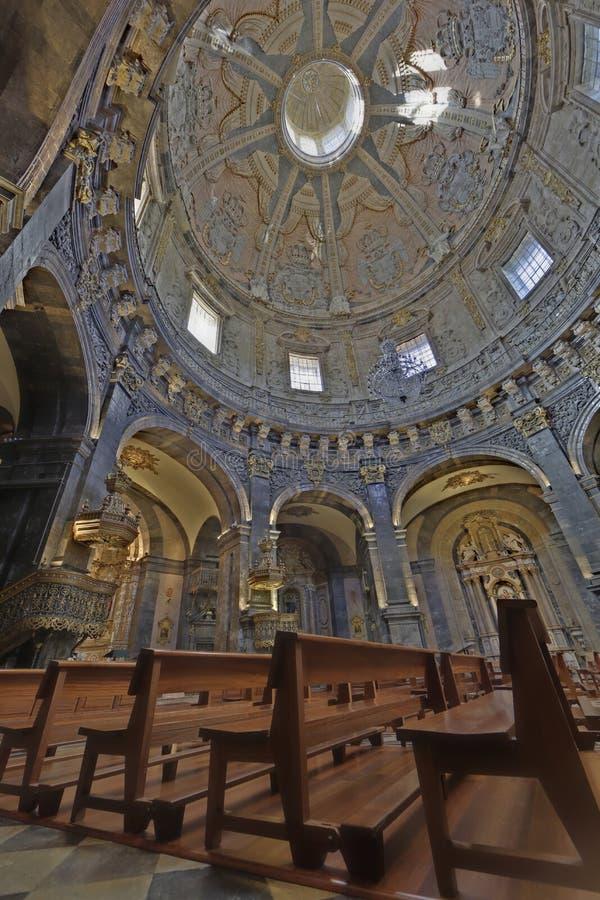 Loiola大教堂在阿兹佩希亚(西班牙) 免版税图库摄影