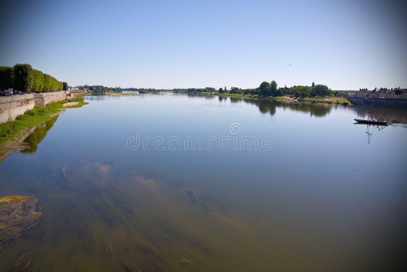 loire flod fotografering för bildbyråer