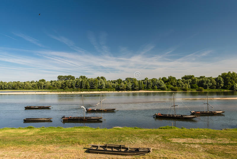 Loire River arkivbilder
