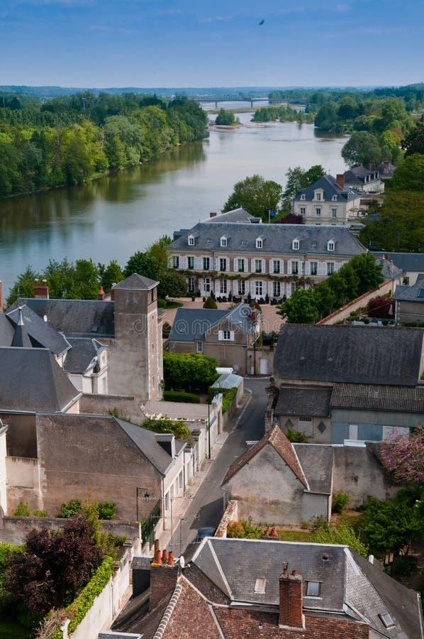 Loire Valley视图 免版税库存图片