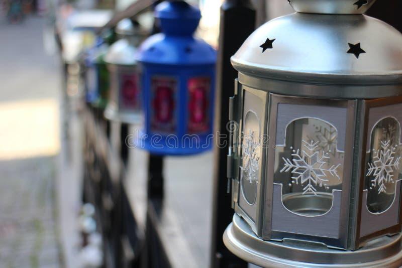 Loja da decoração da rua fotografia de stock royalty free