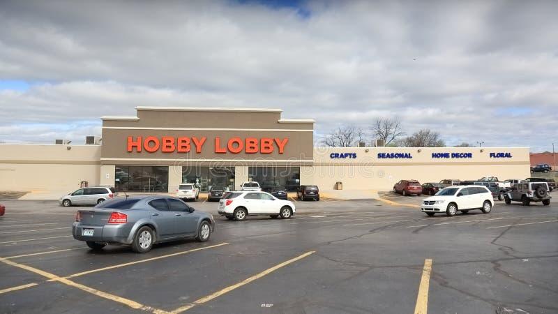 Loja da entrada do passatempo em Springfield, MO, o 14 de abril de 2018 imagens de stock royalty free