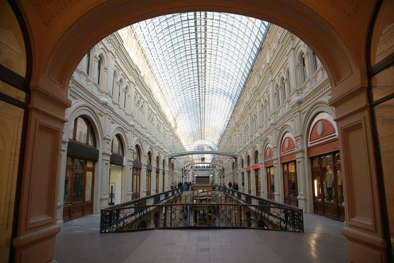 Loja da ?GOMA ' em Moscovo fotos de stock