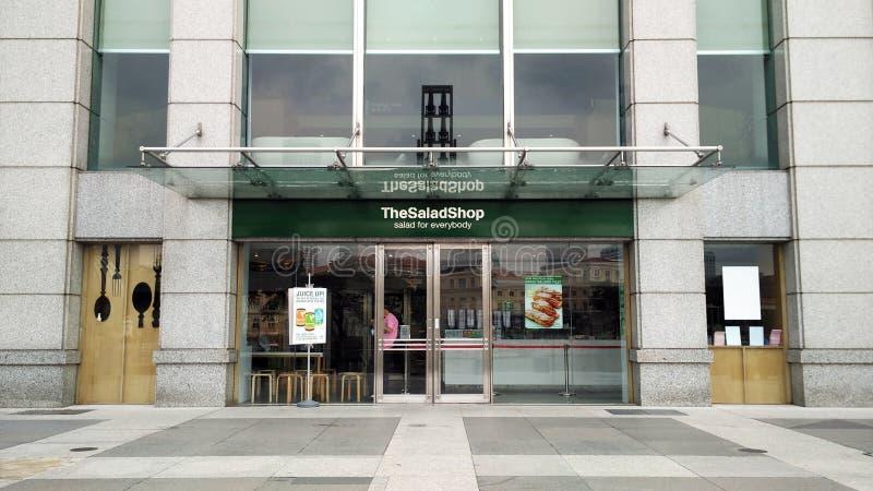 A loja da salada foto de stock royalty free