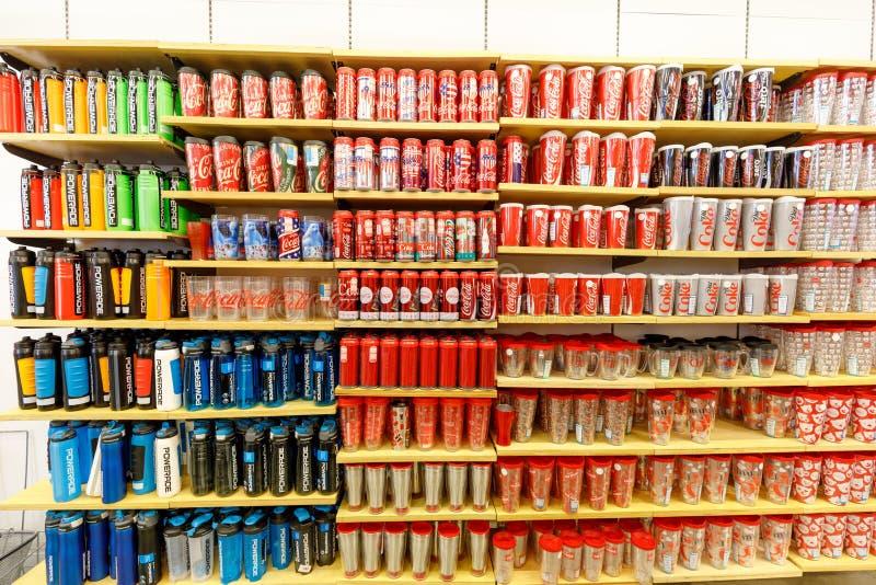 Loja de Coca-Cola na tira de Las Vegas fotos de stock royalty free