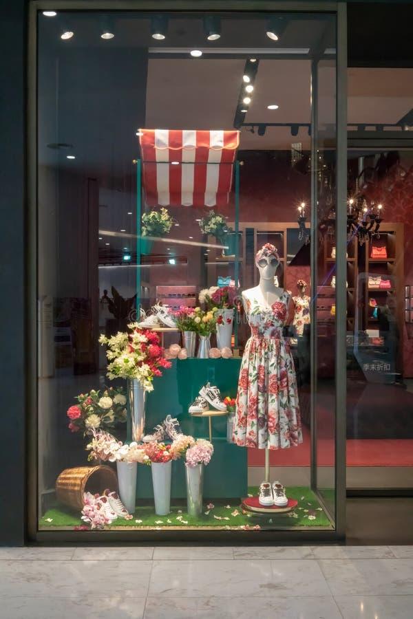 Loja de Dolce & de Gabbana em Emquatier, Banguecoque, Tailândia, o 29 de junho, 20 imagem de stock royalty free