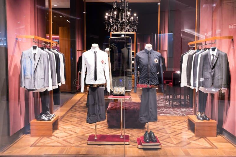 Loja de Dolce & de Gabbana em Emquatier, Banguecoque, Tailândia, o 3 de setembro, 201 foto de stock