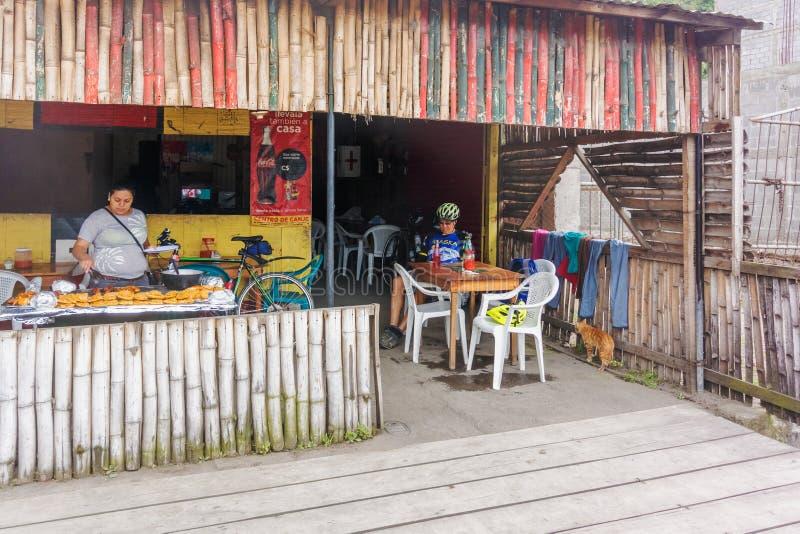 Loja de fast food em Jinotega, Nicarágua fotos de stock royalty free