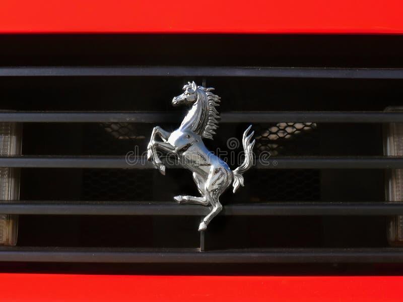 Loja de Ferrari - Bucareste fotografia de stock royalty free